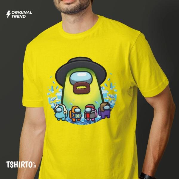 among us tshirt breaking bad style